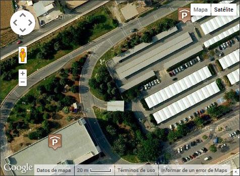 Alquiler de coches en Ibiza aeropuerto Mapa