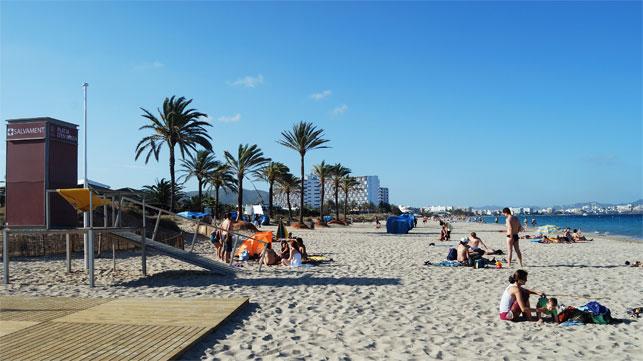Alquiler de coches en Playa d'en Bossa