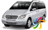 Mercedes Vito Traveliner o automóvil parecido