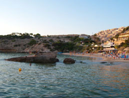 car rental in Cala Tarida