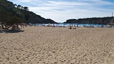 Calas de Ibiza. Cala Vadella