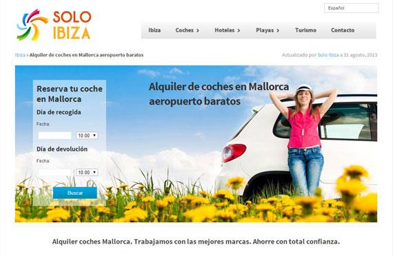 Como alquilar un coche en Mallorca