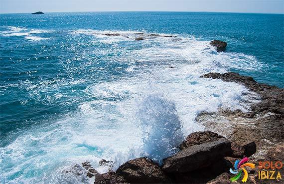 el tiempo en las playas de ibiza
