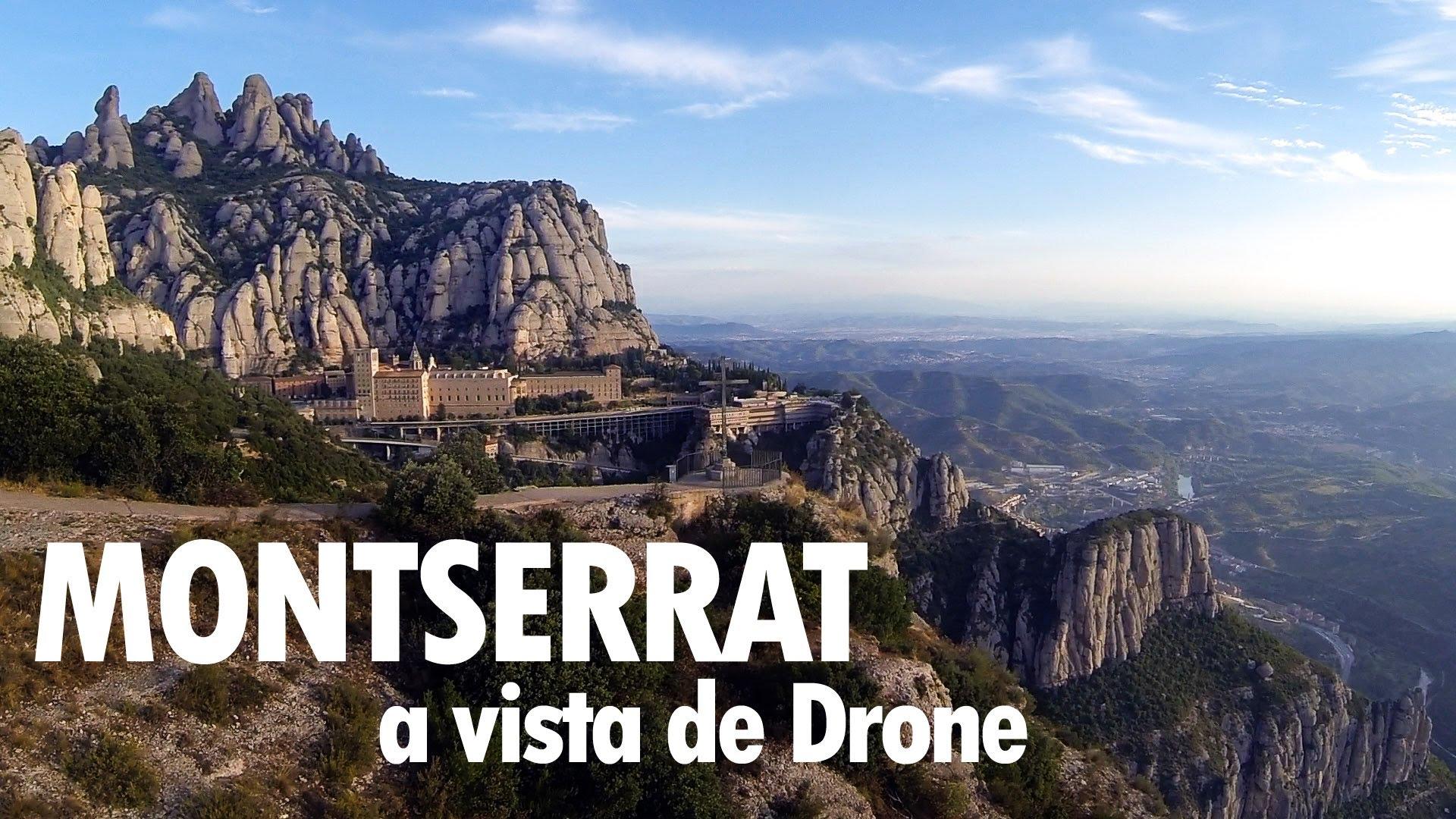 Viajar en coche al Monasterio de Montserrat en Barcelona