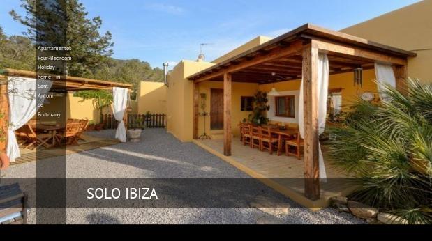Apartamentos Four-Bedroom Holiday home in Sant Antoni de Portmany, opiniones y reserva