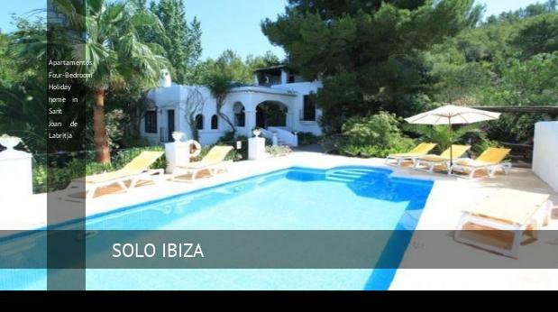 Apartamentos Four-Bedroom Holiday home in Sant Joan de Labritja, opiniones y reserva