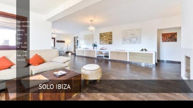 Apartamentos Four-Bedroom Holiday home in Sant Josep de Sa Talaia / San Jose with Terrace, opiniones y reserva