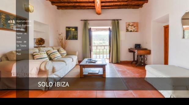 Apartamentos Four-Bedroom Holiday home in Sant Josep de Sa Talaia with Pool, opiniones y reserva