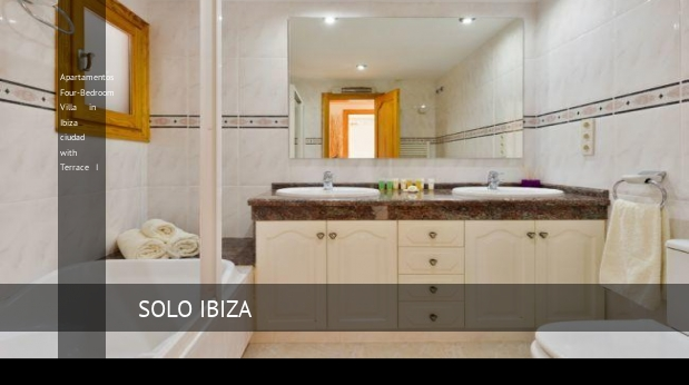 Four-Bedroom Villa in Ibiza ciudad with Terrace I, opiniones y reserva