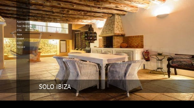 Four-Bedroom Villa in Ibiza ciudad with Terrace, opiniones y reserva
