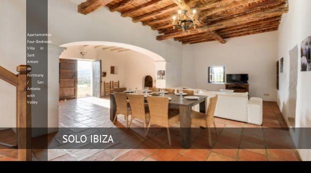 Four-Bedroom Villa in Sant Antoni de Portmany / San Antonio with Valley, opiniones y reserva