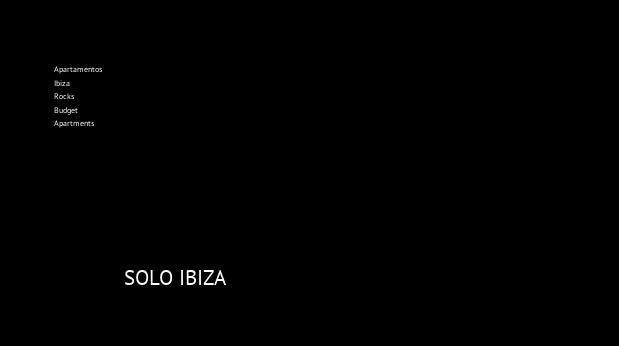 Apartamentos Ibiza Rocks Budget Apartments, opiniones y reserva
