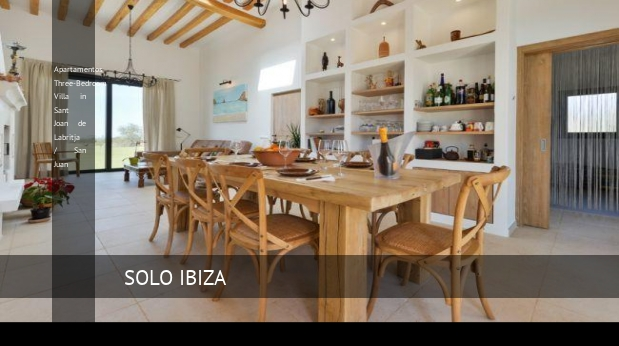 Three-Bedroom Villa in Sant Joan de Labritja / San Juan, opiniones y reserva