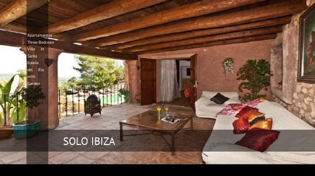 Three-Bedroom Villa in Santa Eulalia del Río with Garden, opiniones y reserva