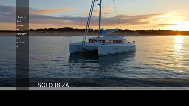 Villa Boat in Sant Antoni de Portmany (13 metres) 6, opiniones y reserva