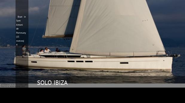 Villa Boat in Sant Antoni de Portmany (15 metres) 4, opiniones y reserva