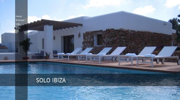 Boutique Villa Ibiza, opiniones y reserva