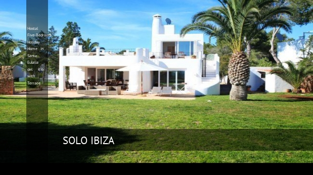Hostal Five-Bedroom Holiday Home in Santa Eulalia del Río with Terrace, opiniones y reserva