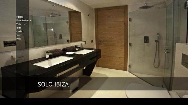Five-Bedroom Villa in Ibiza ciudad with Pool, opiniones y reserva