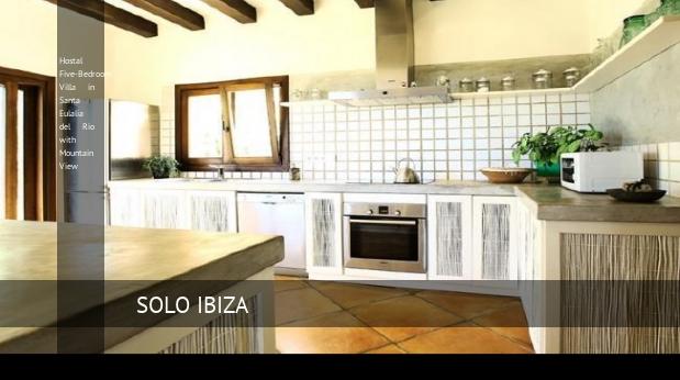 Five-Bedroom Villa in Santa Eulalia del Río with Mountain View, opiniones y reserva