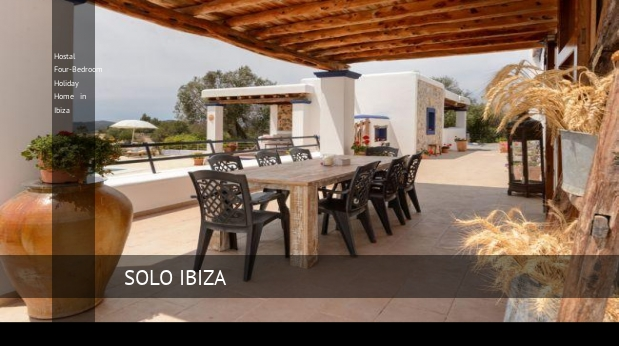 Hostal Four-Bedroom Holiday Home in Ibiza, opiniones y reserva