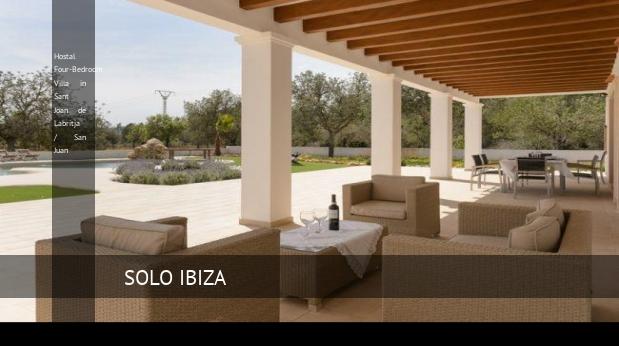 Four-Bedroom Villa in Sant Joan de Labritja / San Juan, opiniones y reserva