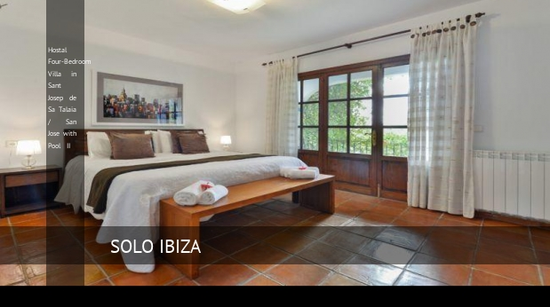 Four-Bedroom Villa in Sant Josep de Sa Talaia / San Jose with Pool II, opiniones y reserva
