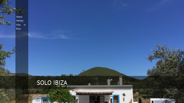 Holiday Villa in Ibiza, opiniones y reserva