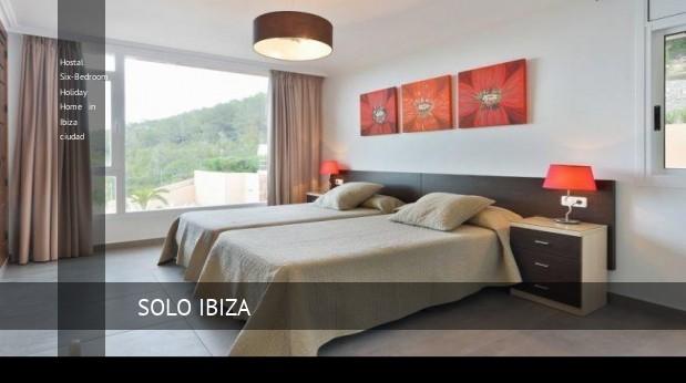 Hostal Six-Bedroom Holiday Home in Ibiza ciudad, opiniones y reserva