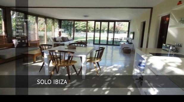 Six-Bedroom Villa in Santa Eulalia del Río with Pool III, opiniones y reserva