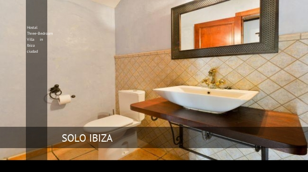 Three-Bedroom Villa in Ibiza ciudad, opiniones y reserva