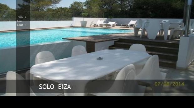 Villa in Cala Bassa I, opiniones y reserva