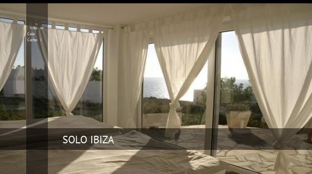 Villa in Cala Carbo I, opiniones y reserva