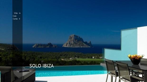 Villa in Cala Carbo II, opiniones y reserva