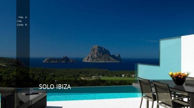 Villa in Cala Carbo IV, opiniones y reserva