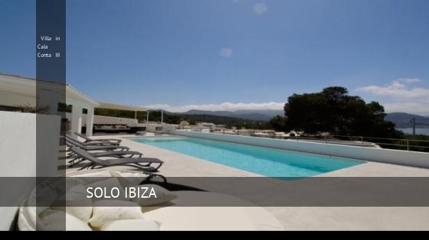 Villa in Cala Conta III, opiniones y reserva