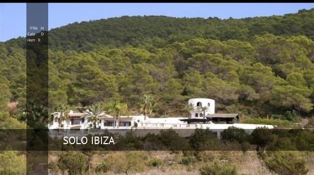 Villa in Cala D Hort II, opiniones y reserva