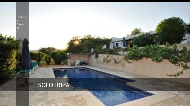 Villa in Es Cubells XI, opiniones y reserva