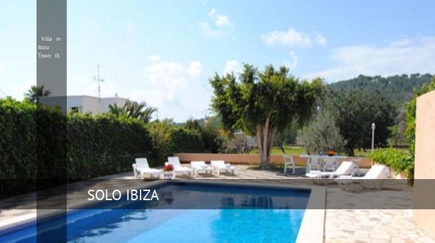 Villa in Ibiza Town IX, opiniones y reserva