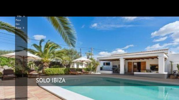 Villa in Playa Den Bossa II, opiniones y reserva