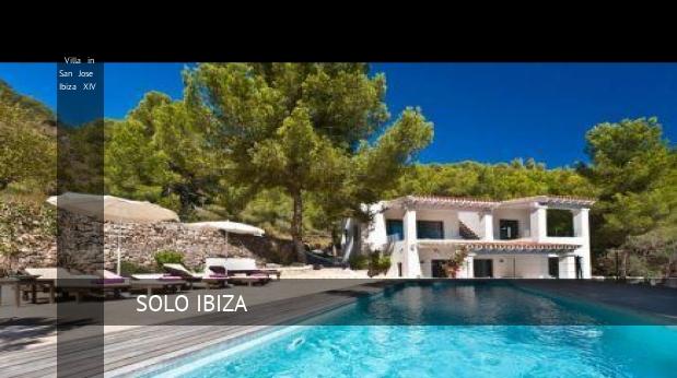 Villa in San Jose Ibiza XIV, opiniones y reserva