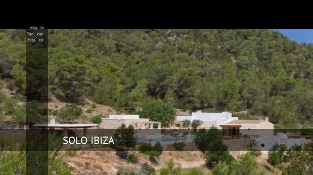 Villa in San Jose Ibiza XX, opiniones y reserva