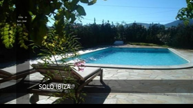 Villa in San Jose XVII, opiniones y reserva
