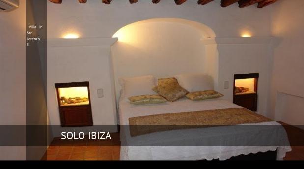 Villa in San Lorenzo III, opiniones y reserva