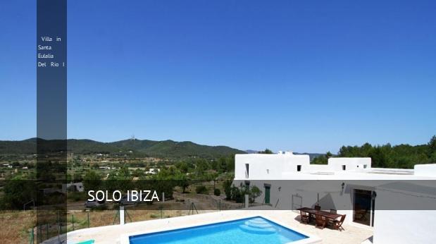 Villa in Santa Eulalia Del Rio I, opiniones y reserva