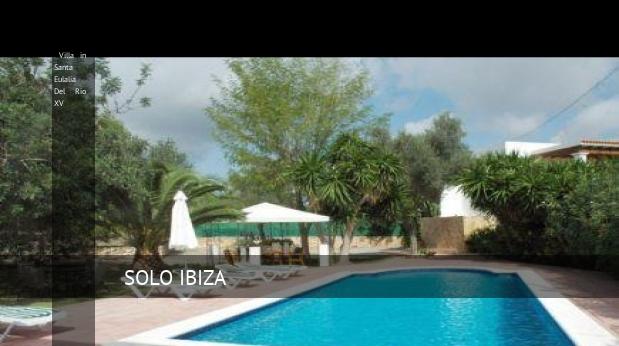 Villa in Santa Eulalia Del Rio XV, opiniones y reserva