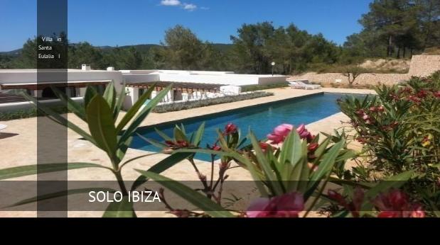Villa in Santa Eulalia I, opiniones y reserva