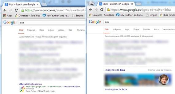 como saber que puesto ocupa mi web chrome