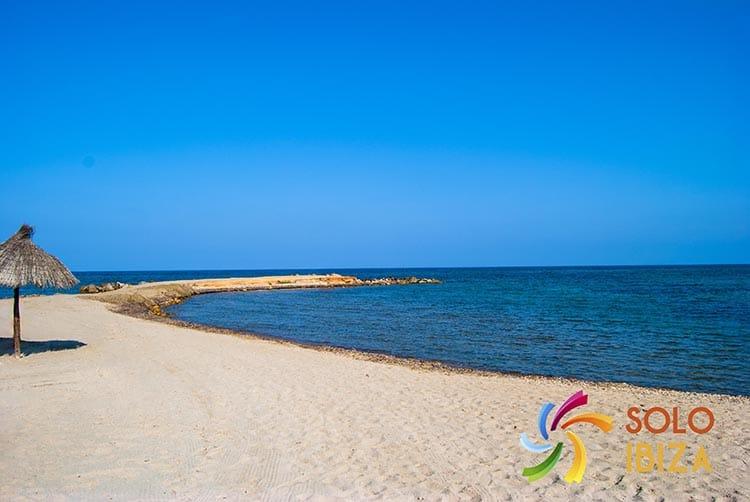 Playa del rio de santa eulalia